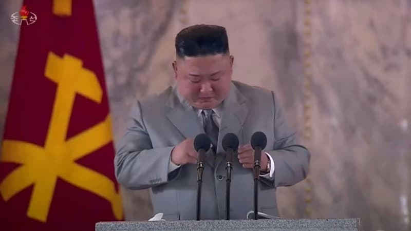 Kim Jong Un Emotional and Apologetic