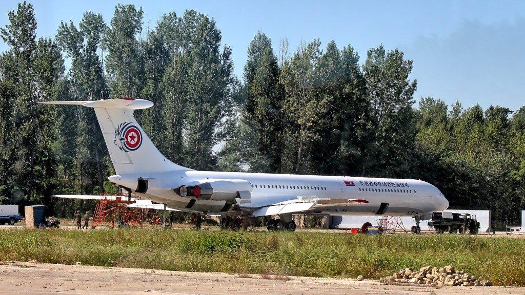 Kim Jong-Un's Il-62 Chammae-1 -N.Korea airplane
