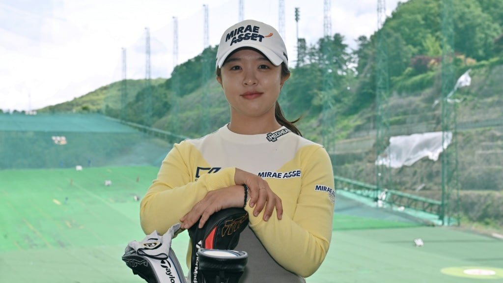 Kim Sei-young Young Golfer in South Korea.afp
