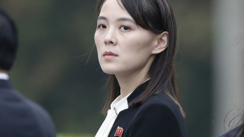 Kim Yo Jong, Sister of North Korea's Leader Kim Jong Un.afp