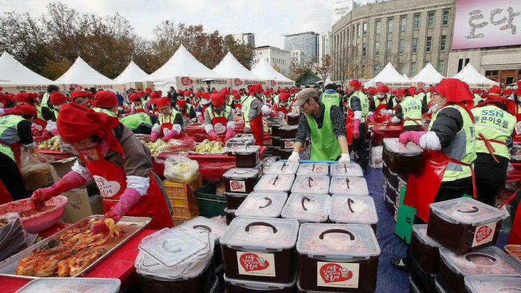 Kimchi Making Festival
