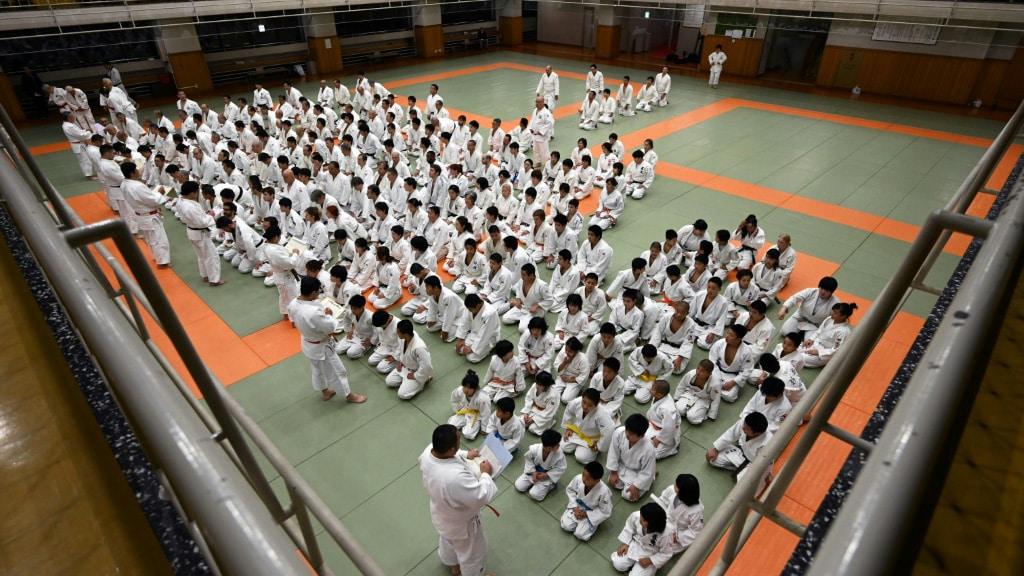 Kodokan Dojo in Tokyo Japan.afp