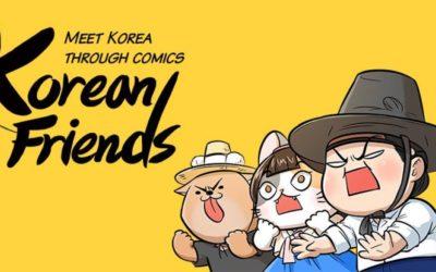 Learn Korean Culture thru Funny Comics by the 'Korean Friends'
