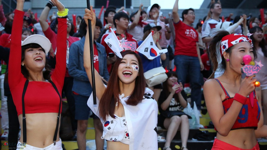 Korea Fans World Cup | Republic of Korea