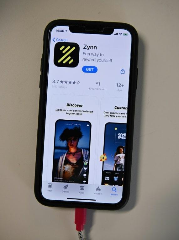 Kuaishou's Zynn App