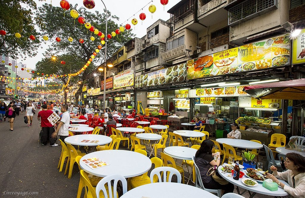 Kuala Lumpur Food Stalls | Linvoyage