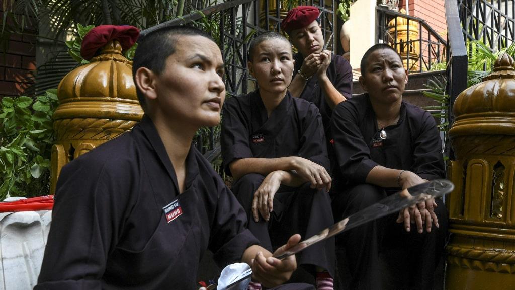 Kung Fu Nuns Nepal ©AFP