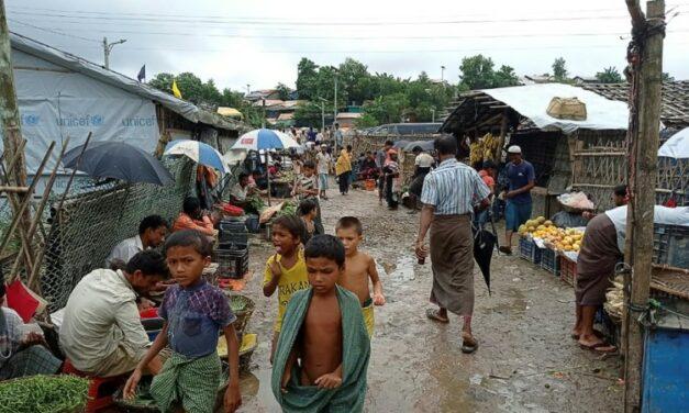 Rohingya Children Stage 'Genocide' Anniversary Protest in Bangladesh Camp