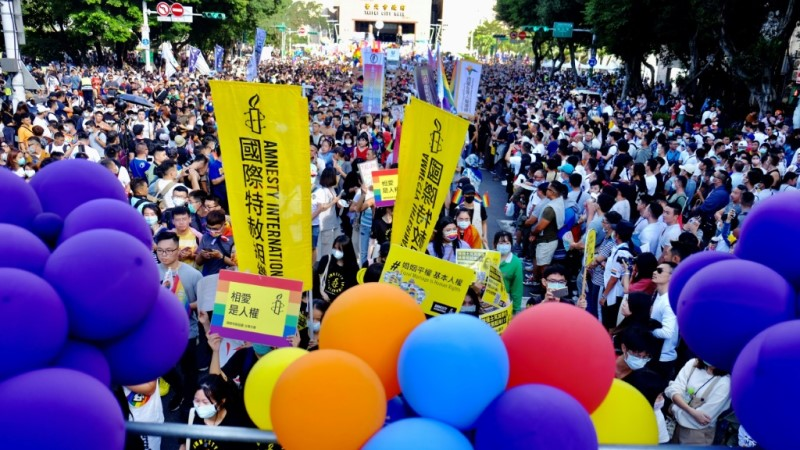 LGBT Rights Activists in Taiwan