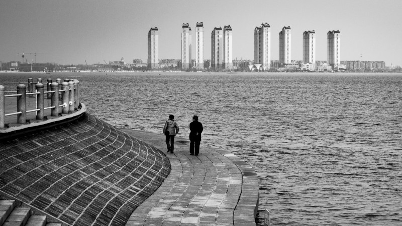 'Leaving Together', China ©Gauthier Delecroix