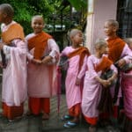 Children Become Nuns to Escape Conflict in Myanmar