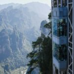 World's Highest Elevator Takes Tourists up to China's 'Avatar' Cliff
