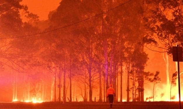 Laser-Guided Lightning May Help Prevent Wildfires