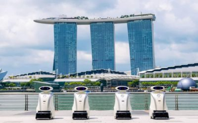 Singapore's Cleaning Robots to be Deployed in Spring 2020