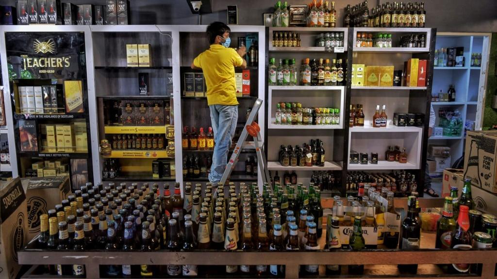 Liquor Store in India