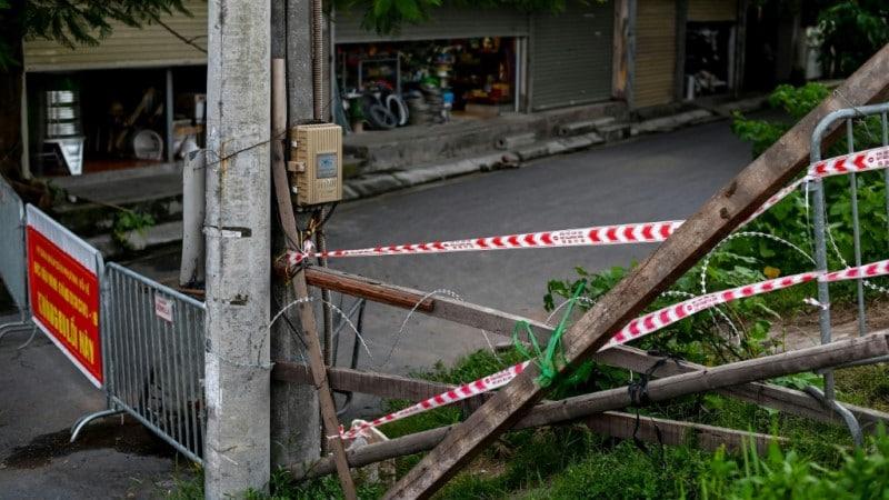 Lockdown in Vietnam's Capital