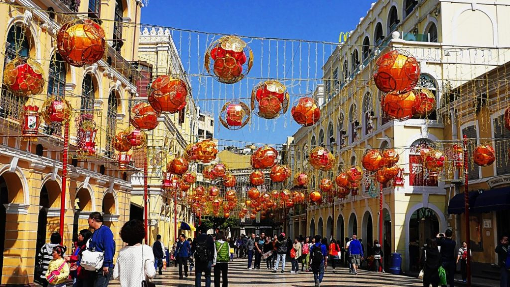 Luna New Year Celebration - Senado Square - Macau