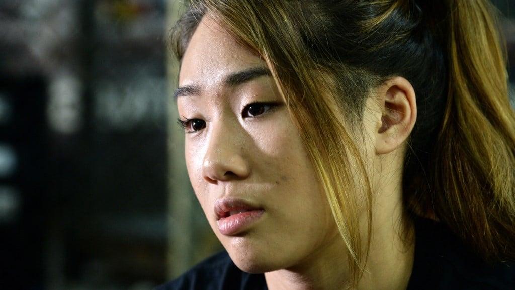 MMA Fighter Angela Lee.afp