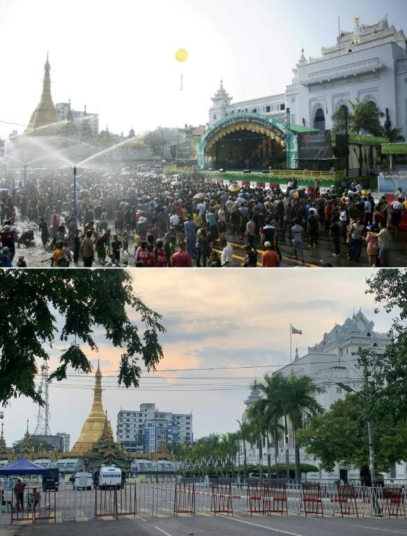 Main Boulevards of Yangon