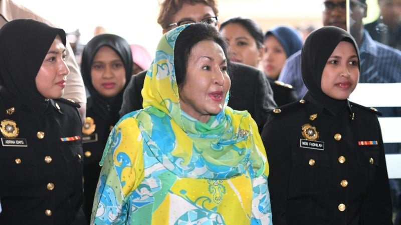 Malaysia Ex-First Lady Rosmah Mansor.afp