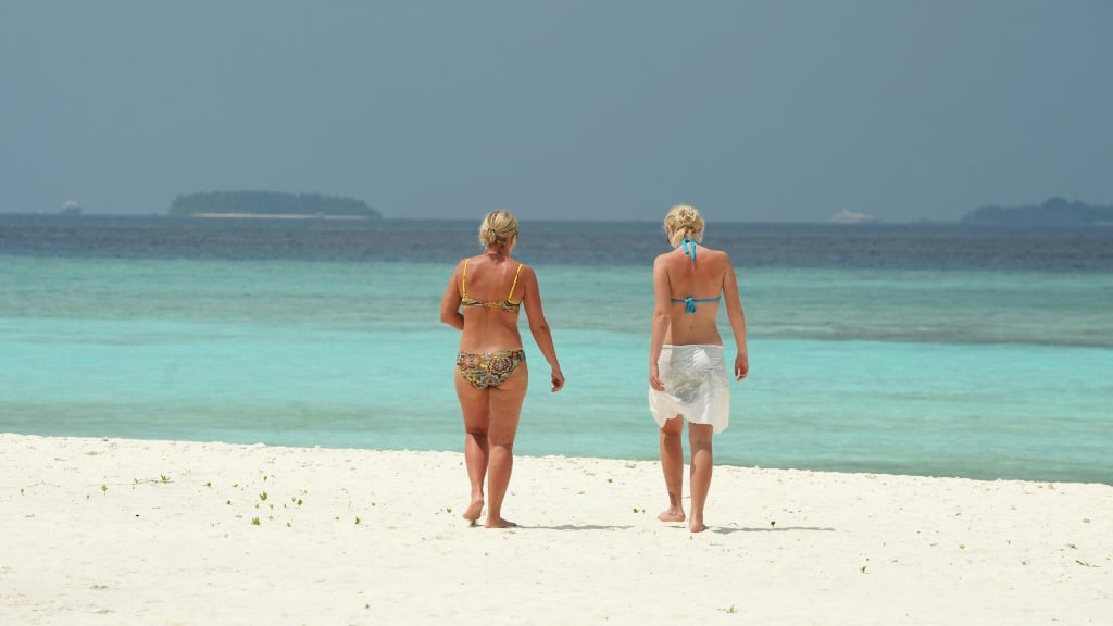 Maldives a Tourist Paradise Left Deserted by the Virus Outbreak.afp