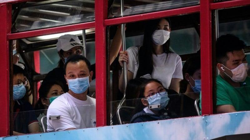 Mandatory Quarantine for New Arrival's in Hong Kong.afp