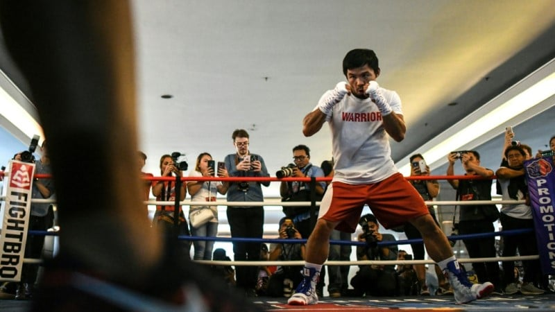Manny Pacquiao People Champ