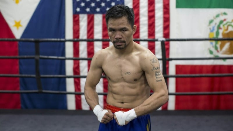 Manny Pacquiao Philippine Boxer