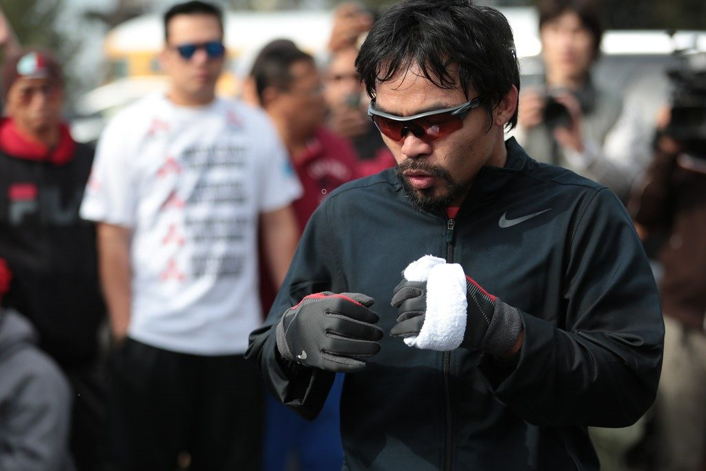 Manny Pacquiao Training in LA - © Oliver Petalver - TheDailySportsHerald