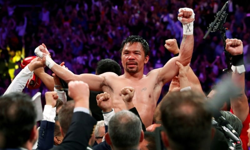 Manny Pacquiao in 2019