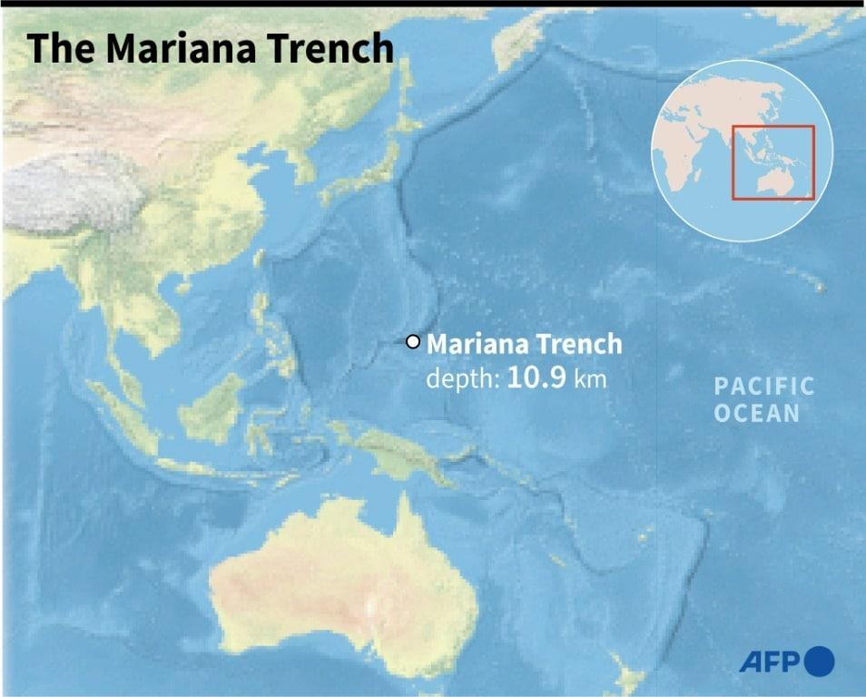 Mariana Trench Location