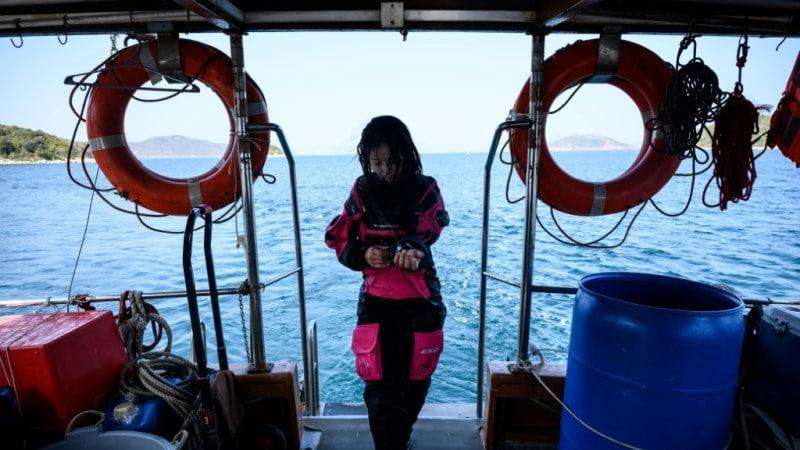 Marine Scientist Vriko Yu