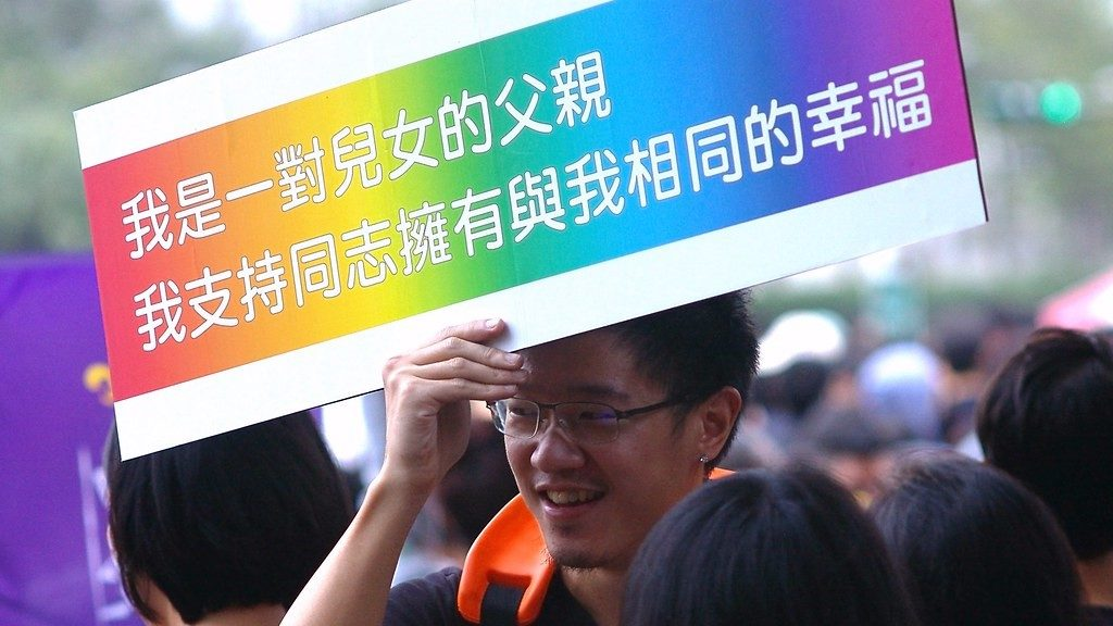 Marriage Equality Rally - Taiwan - Philip W