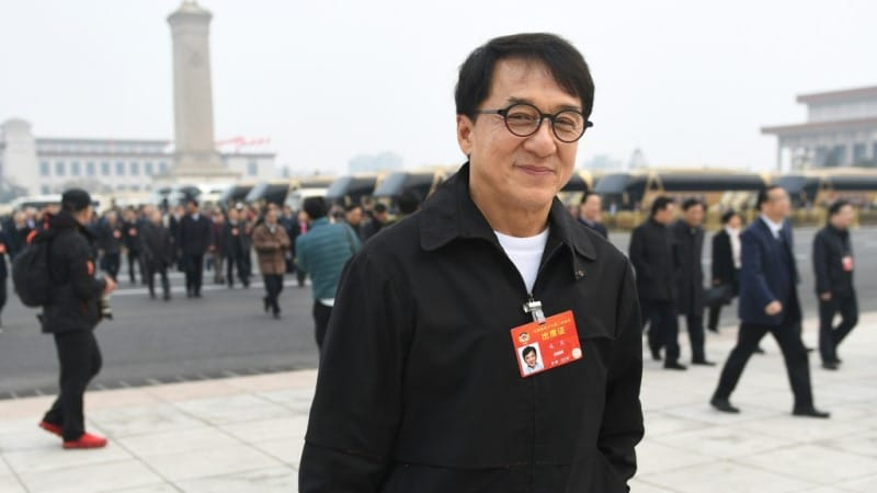 Martial Arts Star Jackie Chan