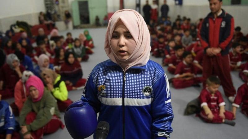 Martial Arts Student Syeda Qubra