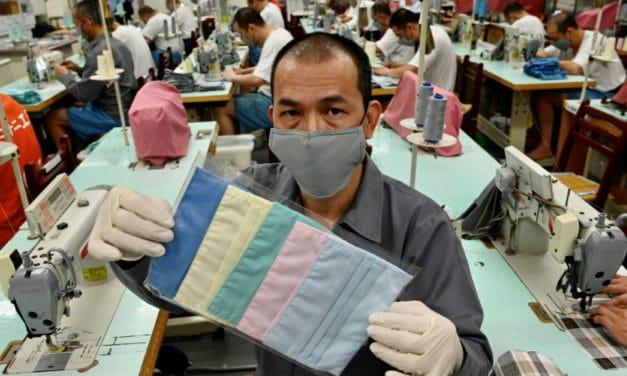 Taiwan Prison Inmates Help Fight Coronavirus With Mask Factory