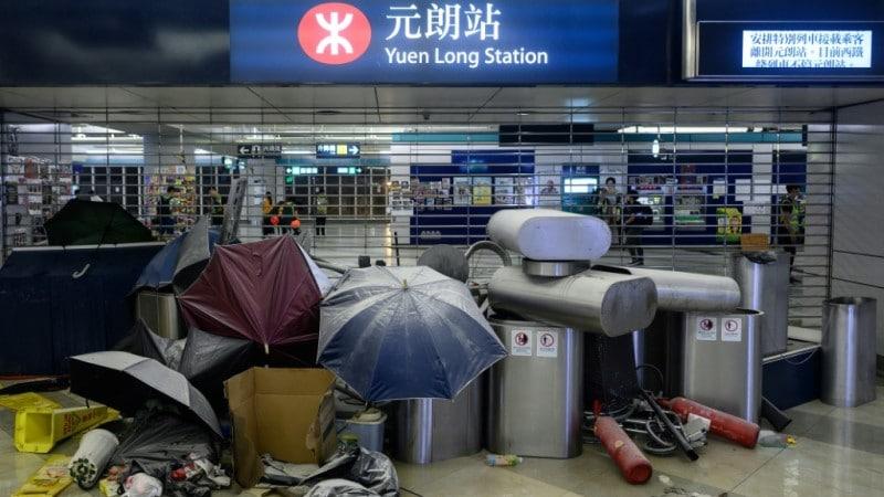 Mass Assault in Yuen Long