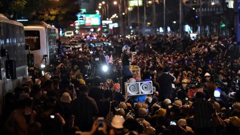 Massive Pro-democracy Rallies in Thailand