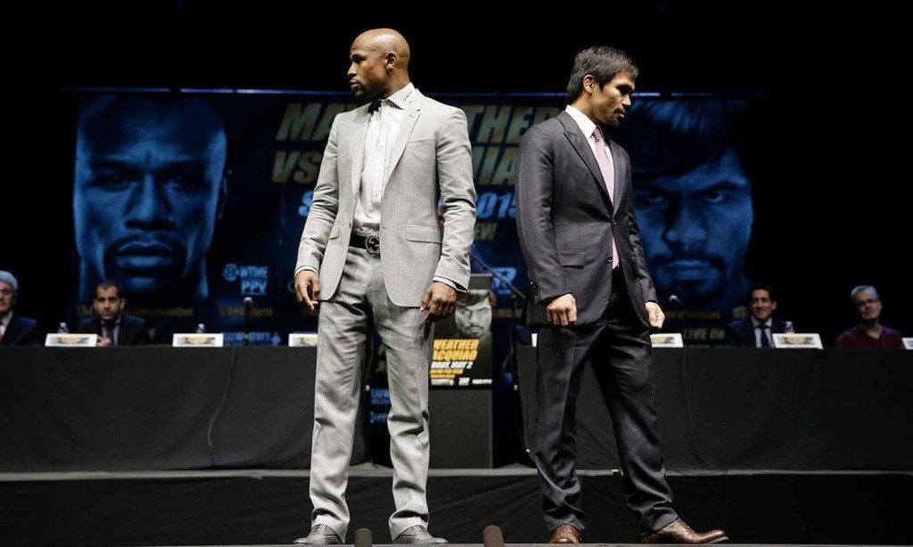 Mayweather vs Pacquiao Press conference - Fahad Amin
