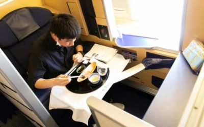 Japan's ANA $540 Gourmet Meals on Parked Planes Sold out in a Day