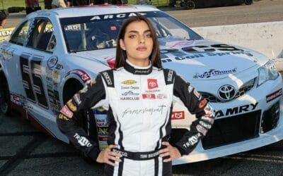 Meet Toni Breidinger, NASCAR's First Female Arab Driver