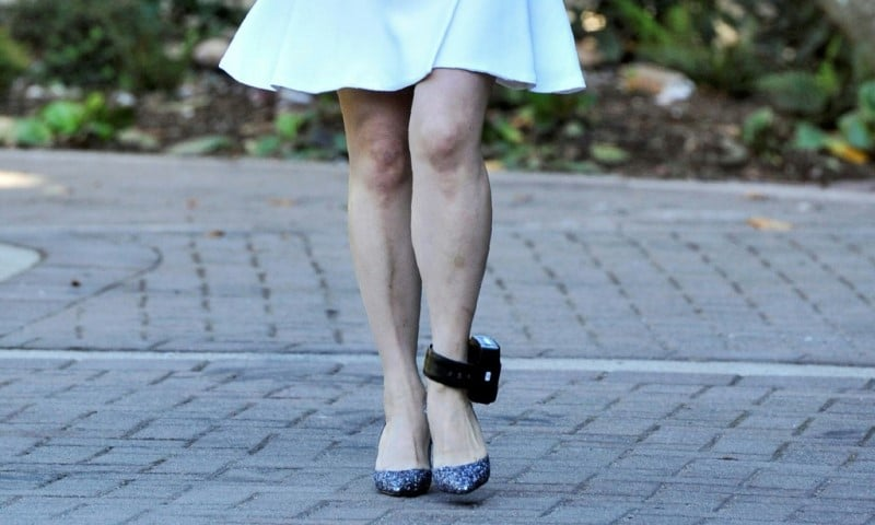 Meng Wanzhou Ankle Monitor