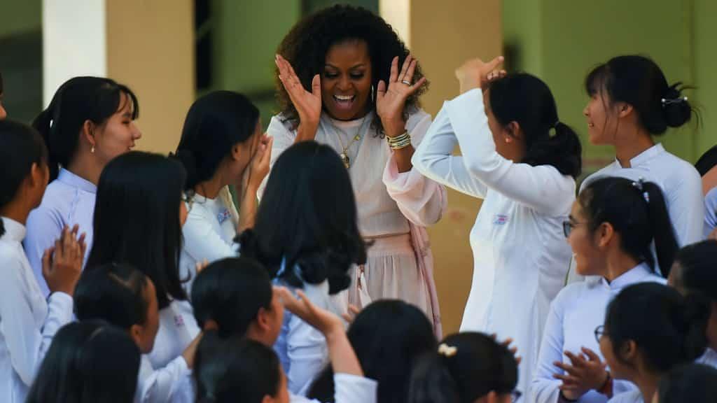 Michelle Obama Vietnam ©AFP