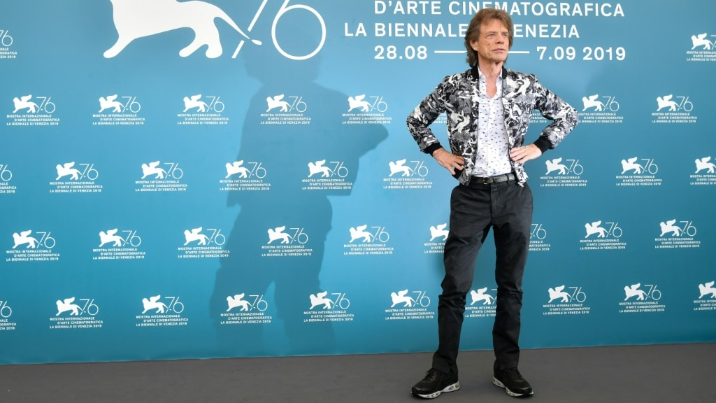 Mick Jagger.afp