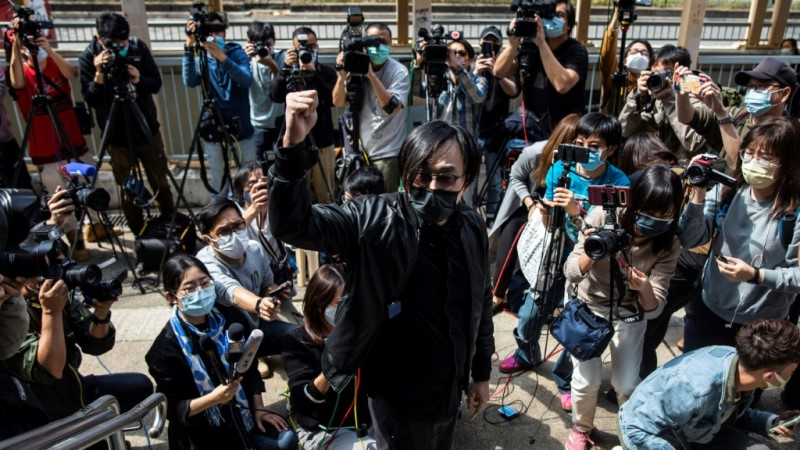 Mike Lam in Court of Hong Kong
