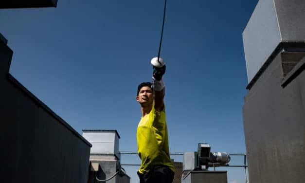 Japan Olympic Fencer Turn Uber Eats Deliveryman