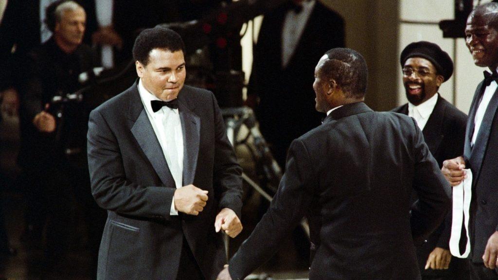 Muhammad Ali in Manila.afp