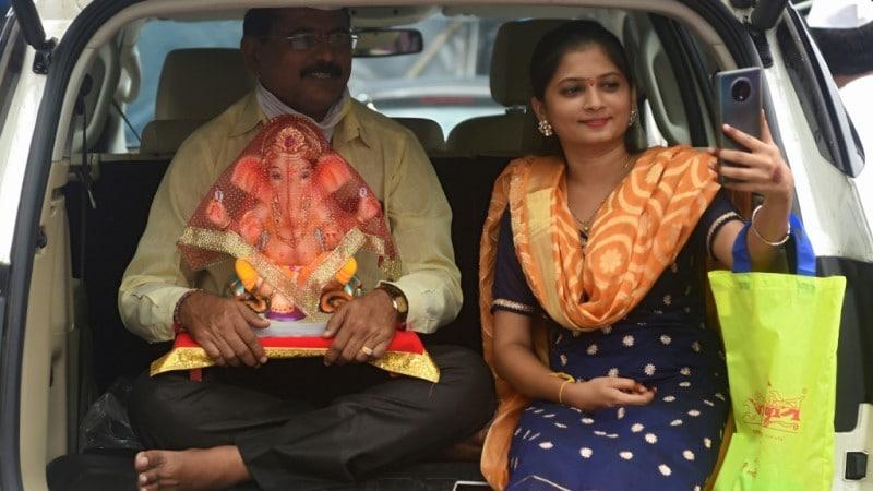 Mumbai Festival Ganesha Idols