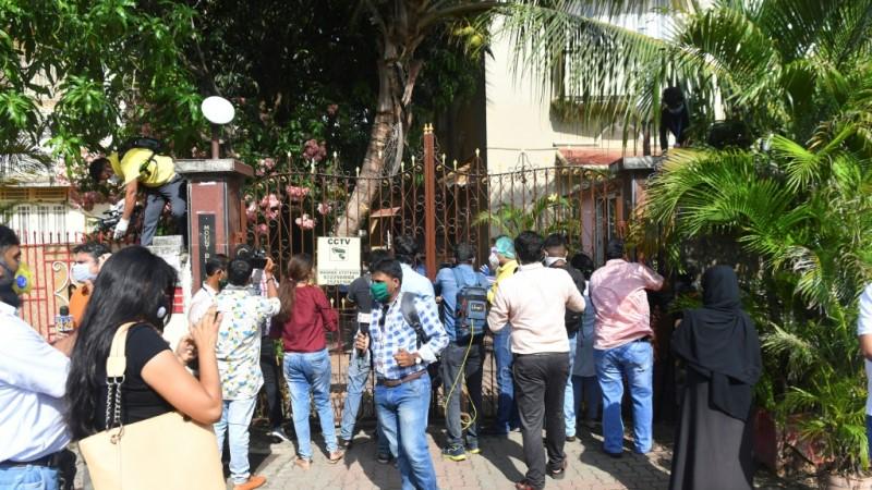 Mumbai Residence of Bollywood Heartrob Sushant Singh Rajput.afp