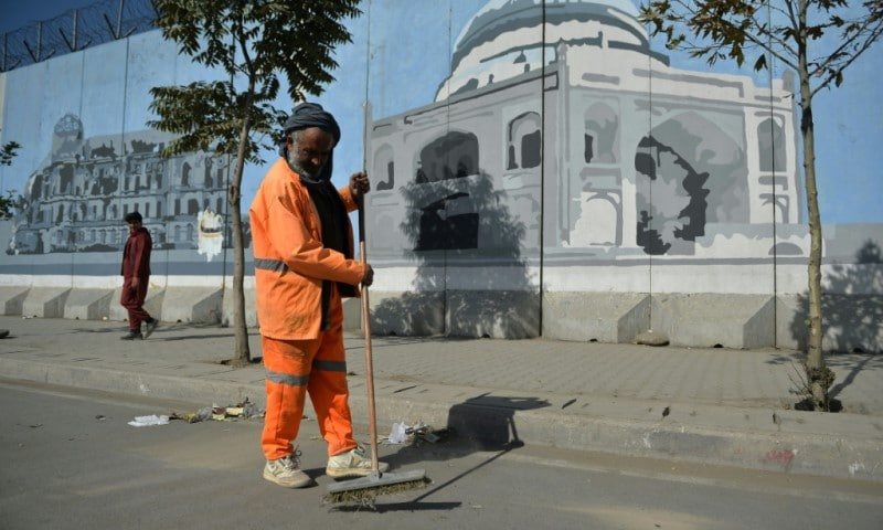 Mural in Kabul
